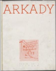 Arkady 1938, R. 4 nr 1