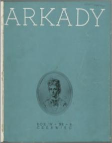 Arkady 1938, R. 4 nr 6