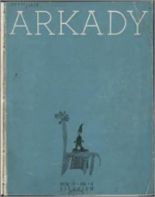 Arkady 1938, R. 4 nr 8