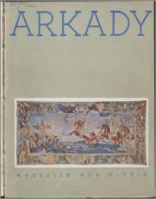 Arkady 1938, R. 4 nr 9