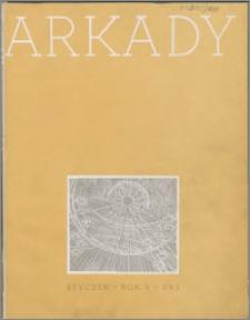 Arkady 1939, R. 5 nr 1