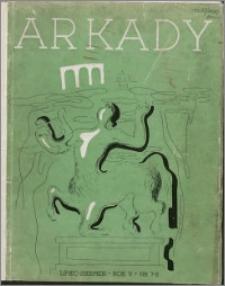 Arkady 1939, R. 5 nr 7-8