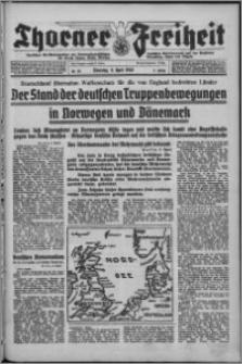 Thorner Freiheit 1940.04.09, Jg. 2 nr 83