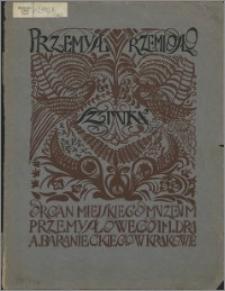 Przemysł, Rzemiosło, Sztuka 1922, R. 2, nr 1