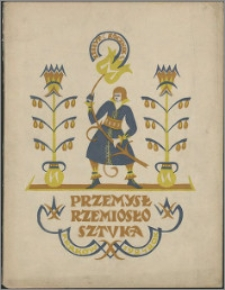 Przemysł, Rzemiosło, Sztuka 1924, R. 4, nr 4