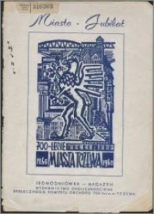 Miasto - jubilat : 700-lecie miasta Tczewa 1260-1960