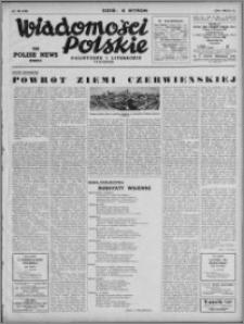 Wiadomości Polskie, Polityczne i Literackie 1942, R. 3 nr 36