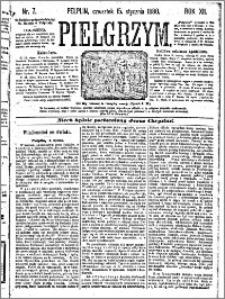 Pielgrzym, pismo religijne dla ludu 1880 nr 7