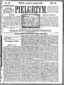 Pielgrzym, pismo religijne dla ludu 1880 nr 40