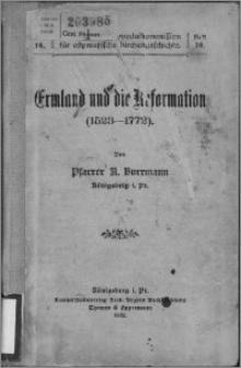 Ermland und die Reformation : (1523-1772)