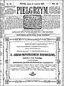 Pielgrzym, pismo religijne dla ludu 1880 nr 42