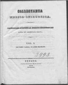 Caesareae Academiae Medico-Chirurgicae cura et impensis edita