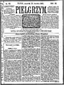Pielgrzym, pismo religijne dla ludu 1880 nr 49