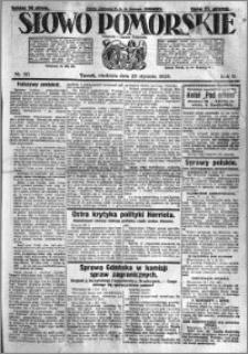 Słowo Pomorskie 1925.01.25 R.5 nr 20