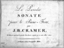 La Parodie; Sonate pour le Piano-Forté, par J. B. Cramer