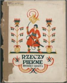 Rzeczy Piękne 1925, R. 5, z. 1