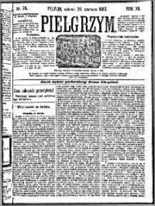 Pielgrzym, pismo religijne dla ludu 1880 nr 74