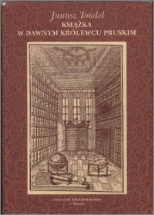 Książka w dawnym Królewcu Pruskim
