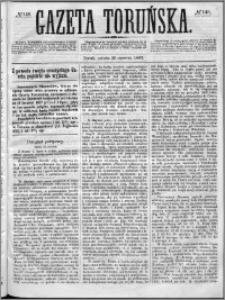 Gazeta Toruńska 1867, R. 1, nr 148 + dodatek