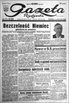 Gazeta Bydgoska 1932.10.08 R.11 nr 232