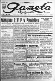 Gazeta Bydgoska 1932.10.27 R.11 nr 248