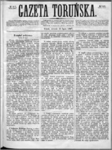 Gazeta Toruńska 1867, R. 1, nr 167 + dodatek