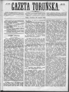 Gazeta Toruńska 1867, R. 1, nr 199