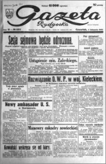 Gazeta Bydgoska 1932.11.03 R.11 nr 253