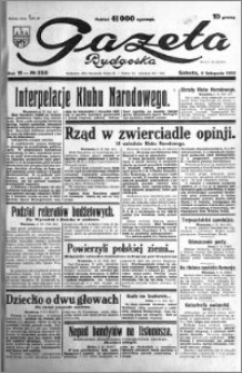 Gazeta Bydgoska 1932.11.05 R.11 nr 255