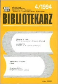 Bibliotekarz 1994, nr 4