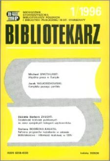 Bibliotekarz 1996, nr 1