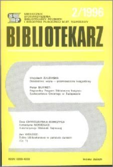 Bibliotekarz 1996, nr 2