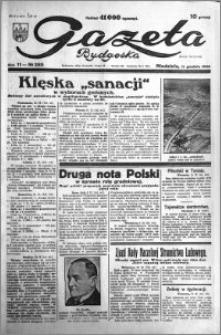 Gazeta Bydgoska 1932.12.11 R.11 nr 285