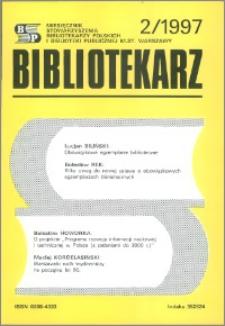 Bibliotekarz 1997, nr 2