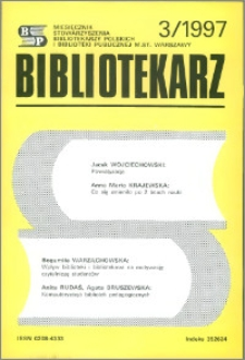 Bibliotekarz 1997, nr 3