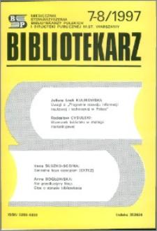 Bibliotekarz 1997, nr 7-8