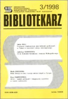 Bibliotekarz 1998, nr 3