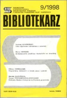 Bibliotekarz 1998, nr 9