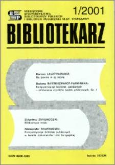 Bibliotekarz 2001, nr 1