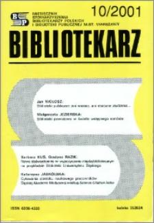 Bibliotekarz 2001, nr 10