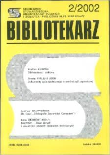 Bibliotekarz 2002, nr 2