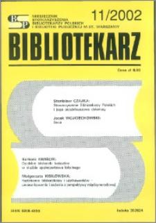 Bibliotekarz 2002, nr 11