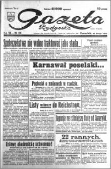 Gazeta Bydgoska 1933.02.23 R.12 nr 44