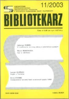 Bibliotekarz 2003, nr 11