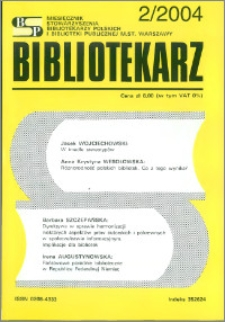 Bibliotekarz 2004, nr 2