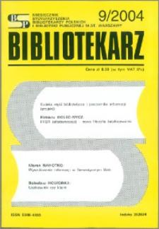 Bibliotekarz 2004, nr 9
