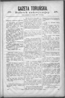 Gazeta Toruńska 1870, R. 4 nr 191 (dodatek nadzyczajny)