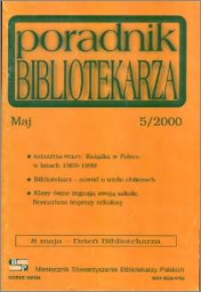 Poradnik Bibliotekarza 2000, nr 5