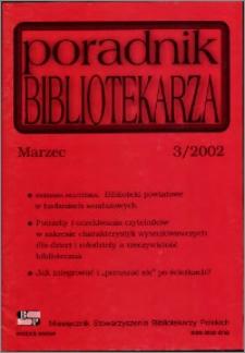 Poradnik Bibliotekarza 2002, nr 3