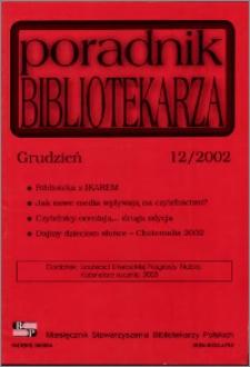 Poradnik Bibliotekarza 2002, nr 12